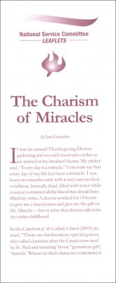 The Charism of Miracles