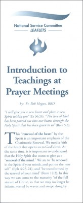 Introduction to Teachings at Prayer Meetings