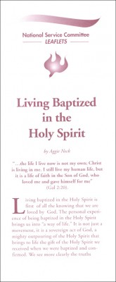 Living Baptized in the Holy Spirit