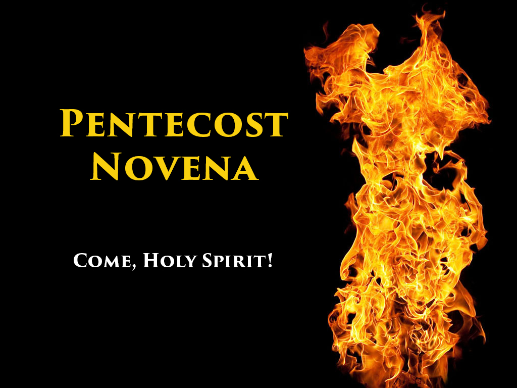 image about Come Holy Spirit Prayer Printable named Pentecost Novena Catholic Charismatic Renewal - Countrywide