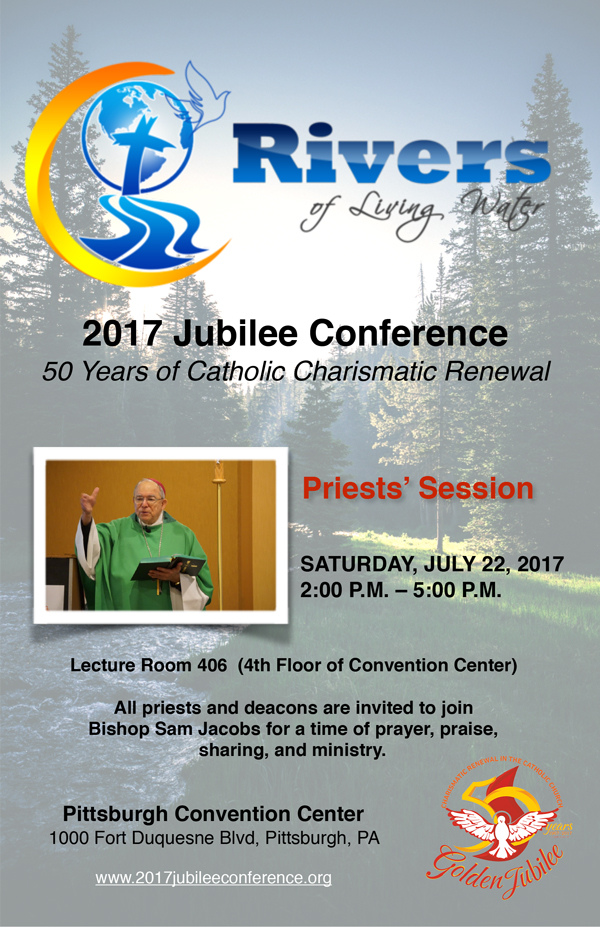 2017 Jubilee Conference Priests' Session
