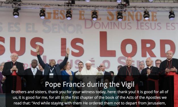 Pope Francis' Address at Pentecost 2017