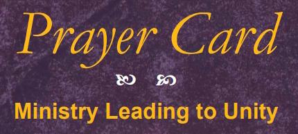 Pentecost Today Winter 2018 Prayer Intentions