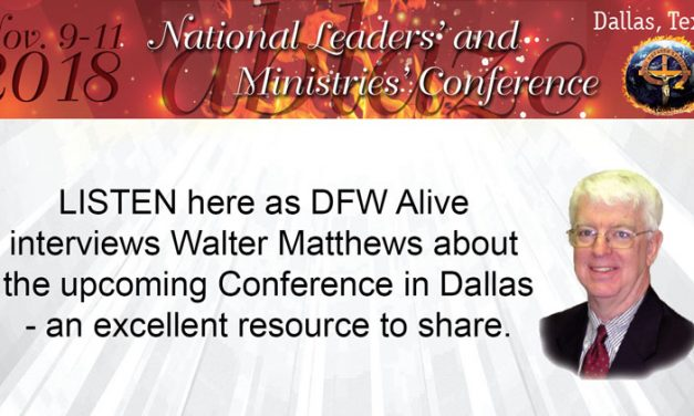 Conference Interview on DFW Alive