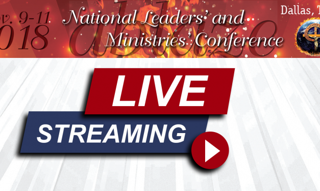 Leaders' Conference to be Live-Streamed
