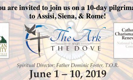 Pentecost 2019 Pilgrimage