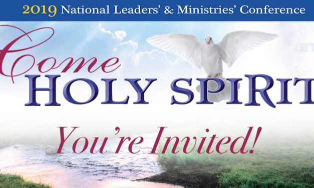 2019 National Leaders' and Ministries' Conference – You're Invited