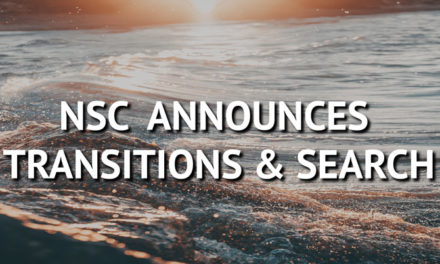 NSC Announces Transitions and Search