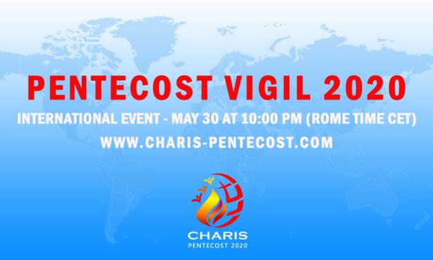 CHARIS Pentecost 2020